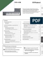 System 8 Roland - Manual ESPAÑOL