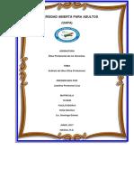 Analisis Del Libro Etica Profesional.,,,