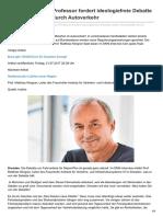 Dnn.de-umwelt Dresdner Professor Fordert Ideologiefreie Debatte Über Schadstoffe Durch Autoverkehr