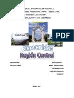 Trabajo de La Region Central