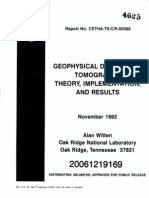 Diffraction Tomography