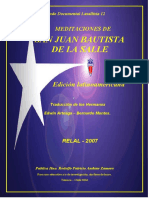 De La Salle, Juan Bautista - Meditaciones (Vers. Latinoamericana de Arteaga, Edwin-Montes, Bernardo).pdf