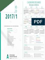 Calendario Academico 2017 Ead 12345