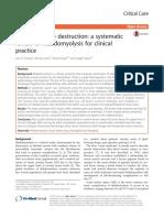 Rhabdomyolysis for Clinical Practice