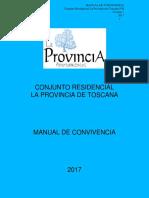 Manual Convivencia La Provinica v.1 - 2017