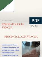 Fisiopatología venosa