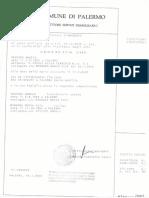 2007 17 Settembre Portobello Sindaco Certificato Di Morte Vescovo Angelo
