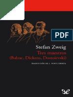 Tres Maestros - Stefan Zweig