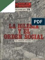 Segarra-Iglesia Orden Social