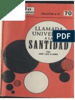 Illanes (1968)-Llamada Universal a La Santidad