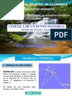 Cinetica de Un Punto Material - Trabajo y Energia - 2017-I