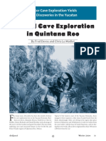 Coastal Cave Exploration in Quintana Roo