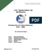 3.7.- Investigacion Del Contrato de Trabajo.