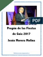 Pregón Fiestas de Guía 2017