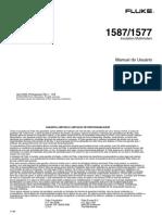 Manual Fluke 1507