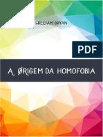 A Origem Da Homofobia