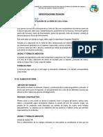 3.-Especificaciones Tecnicas Abancay