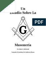 Un Estudio Sobre La Masoneria