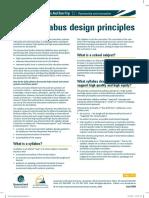 Syllabus Design Principles
