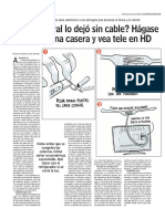 ¿El temporal lo dejó sin cable_ Hágase una antena casera y vea tele en HD - www.lun.pdf
