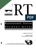 Radiographic Testing