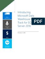 Introducing Microsoft Data Warehouse Fast Track for SQL Server 2016 en US