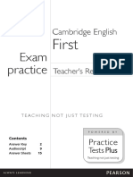 First Teacher's Resources