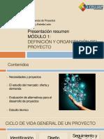 Presentación Resumen Mod 1 Proyectos