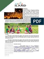 THAILAND Festival Language Culture