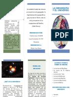 Brochure de Geografia