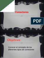 PPT, TIPOS DE CONECTORES, 7° BÁSICO.