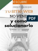 10 Errores de Sitios Web - David Pons