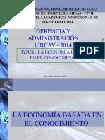 Clase 02 Economia Basada en El Conocimiento