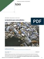 La Bacteria Que Come Plástico _ Ciencia _ EL MUNDO