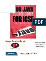 200 JAVA SOURCE CODES FOR ICSE
