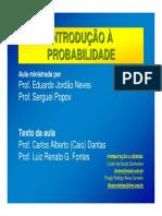 2ª UNIDADE Introdução à ProbabiliadeOK