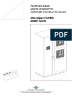 Inversor Automatico de Fuente de Poder Masterpact UA-BA