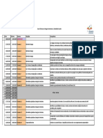Calendário Escolar Por Curso - DSI - 2017 1