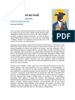 COX_H. -The Market as God