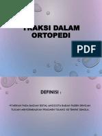 traksi orthopedi (PPT)