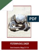 Vanaclocha Fitoterapia Cancer