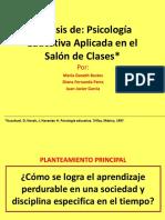 Psicología Educativa Aplicada en El Salón de Clases (2)