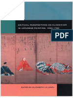 Critical Perspectives on Classicism in Japanese Painting, 1600–1700