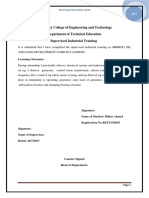 Ogdcl Internship Report 2017