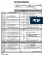 Retail Food Inspection Report 20150924