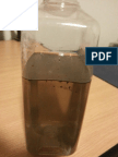 Ash and Unburnt Charcoal in Silicate Solution