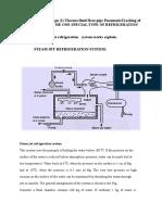 Refrigeration Sysy Type