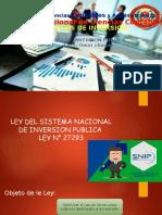 Sistema de Inversversion Publico (Snip)