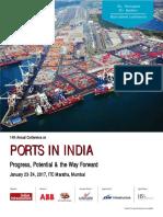 Brochur Ports in India January2017