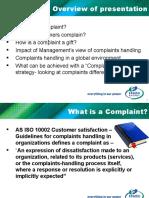 Customer Complaints.ppt